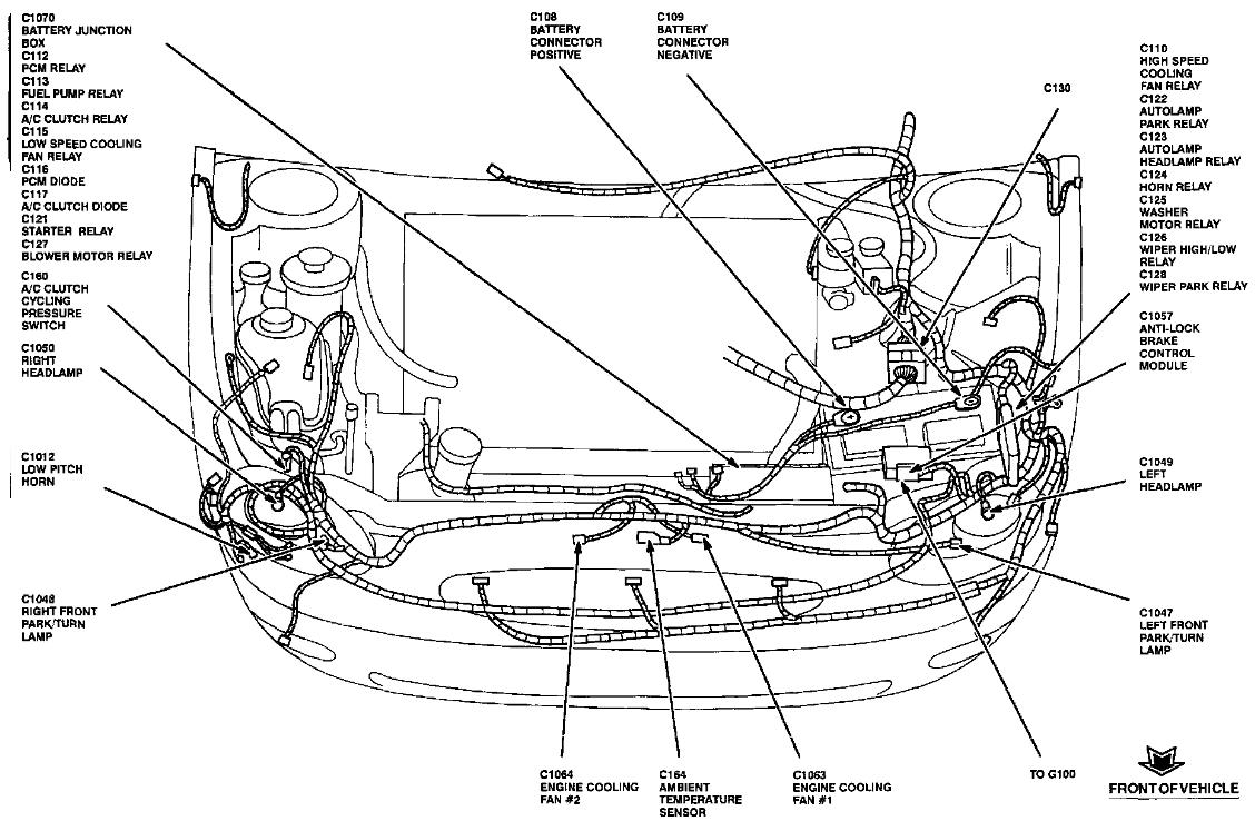 ford contour cooling system wiring diagram fuse box 1993 mercury villager wiring diagram