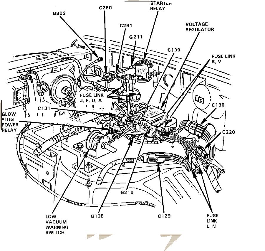 7 3 powerstroke glow plug wiring harness diagram  7  free