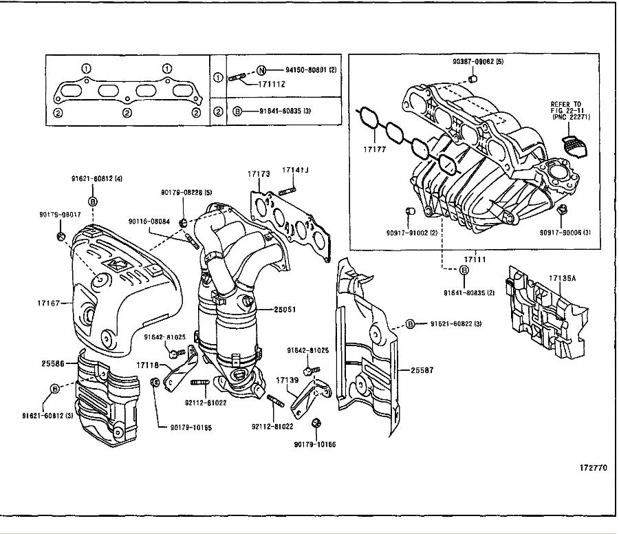 2002 Chevy Tracker 2 0l 2 5l Serpentine Belt Diagram further 530713 Aftermarket Cold Air Intake 2 likewise ponent And Circuit further 158655 Bad Oxygen Sensor together with Caution Do Not Allow Valve Body Plate To Separate From Upper Valve Body During Removal Or Check Balls And Strainer May Fall Out. on 2001 toyota avalon engine diagram
