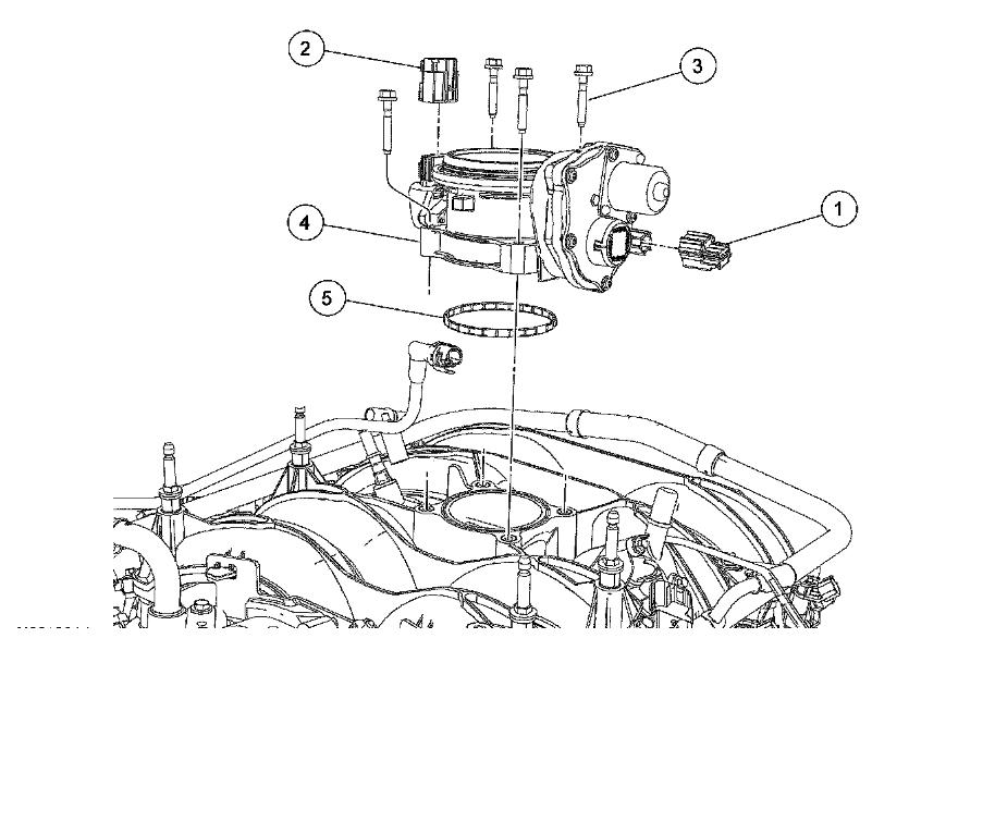 where is the throttle actuator control system located on