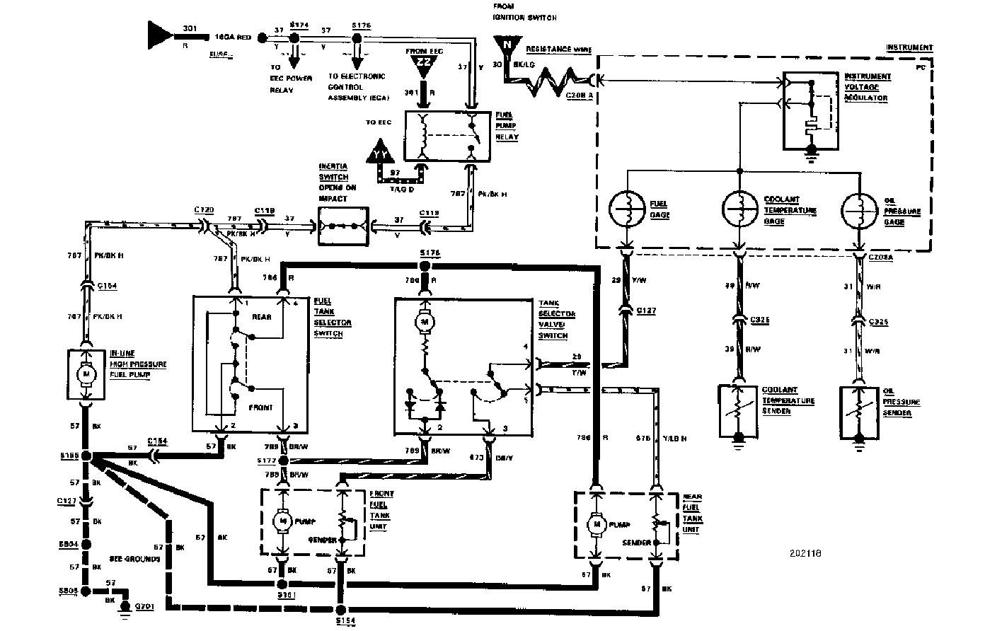 85 ford f150 charging system diagram