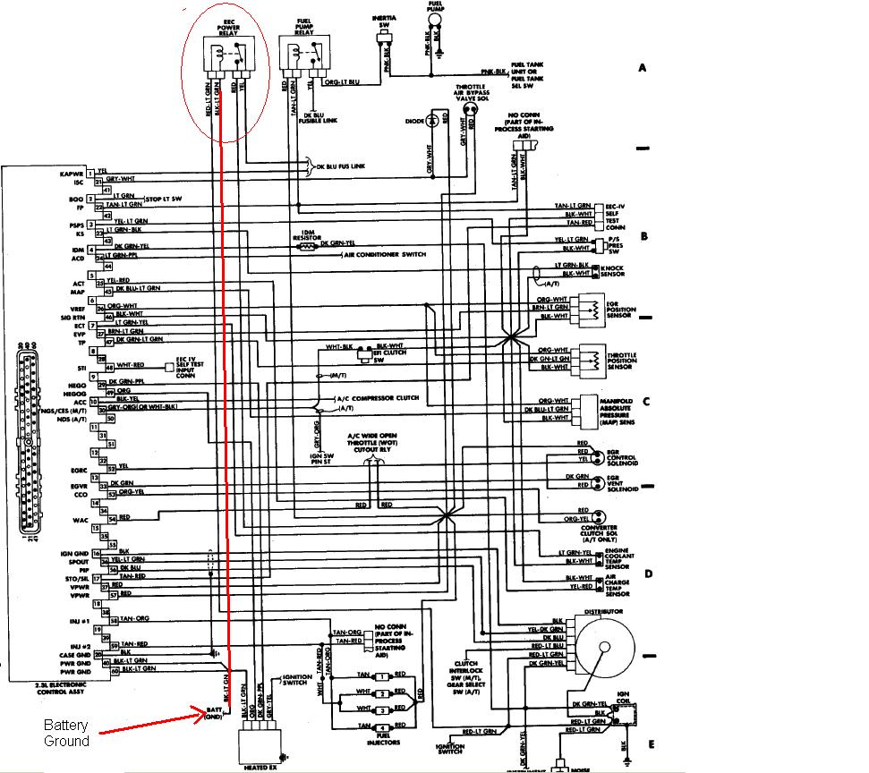 88 ford ignition switch diagram  88  free engine image for