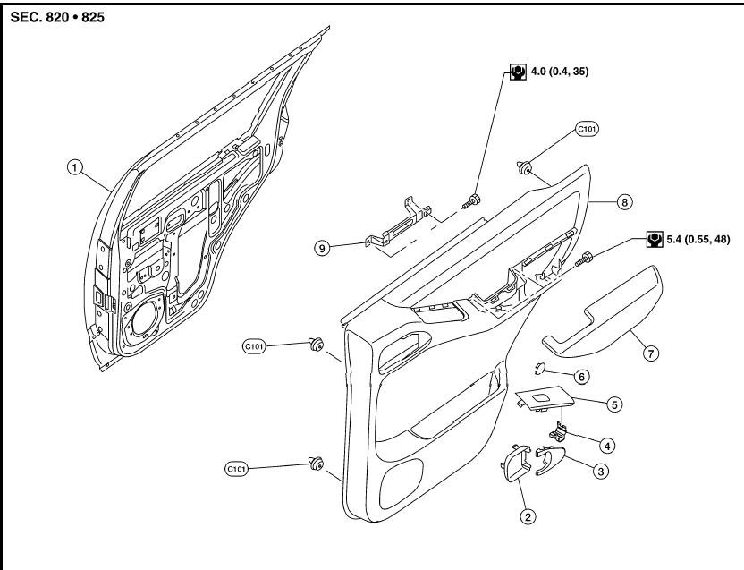 nissan versa door diagram  nissan  free engine image for