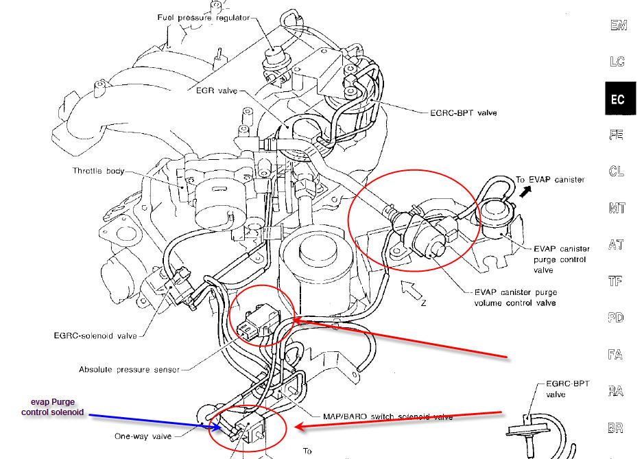 Daewoo 2 0 Photo 17 furthermore Nissan Altima 2 5 Engine Diagram Water Pump Housing moreover T13192537 Nissan titan ambient air temperature in addition 2007 2012 nissan versa air fuel oxygen sensor location also 2004 2013 nissan armada af o2 sensor location. on nissan sentra sensor location