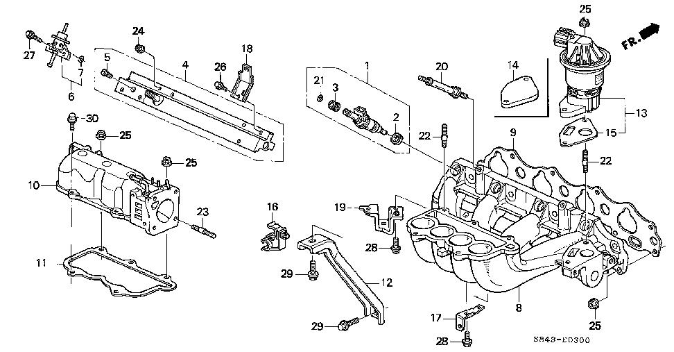 2007 honda accord intake manifold diagram html