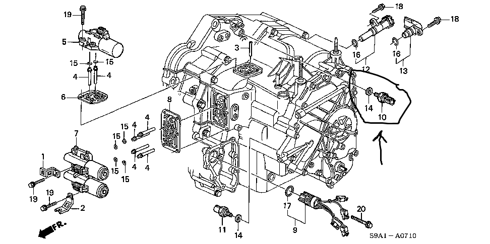 honda 2004 cr v vtec engine diagram  honda  free engine