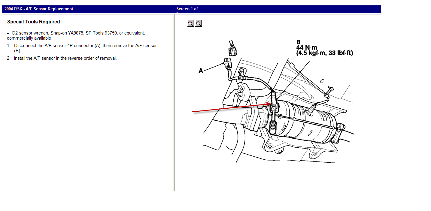 acura rsx o2 sensor wiring diagram hp photosmart printer