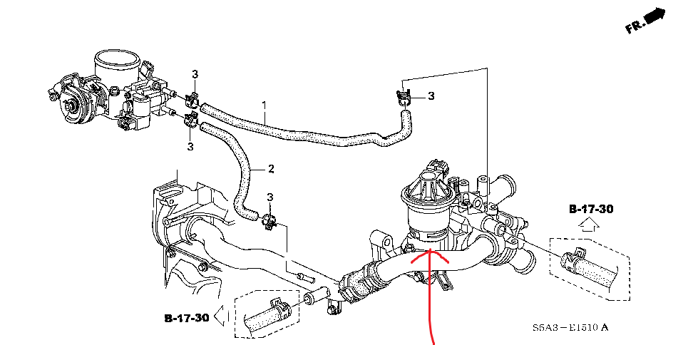 P 0900c1528026a5be also RepairGuideContent in addition Chrysler 300 Heater Blend Door Actuator Location in addition F22a6 Rear Engine Mount Doubt 3011971 together with 393em Hi 2001 Honda Civic Ex Unsuficcient Air. on honda civic egr valve location