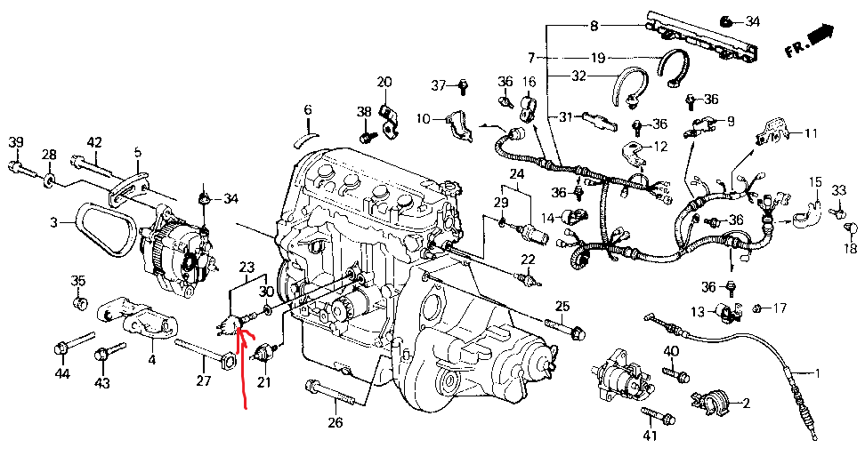 honda accord radiator fan wiring diagram on 92 honda civic fan switch