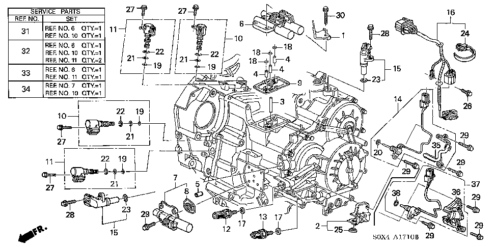 Honda Odyssey 2003 Error Code P0720 The Transmission