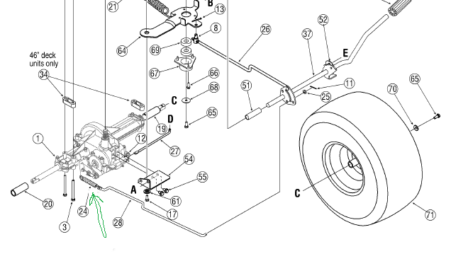 How Do You Replace The Clutch Cable Auger Part No 946