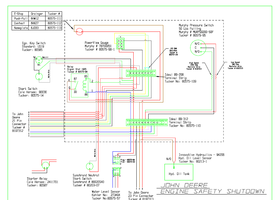 i need the wiring diagram john deere sst  let me know if this helps