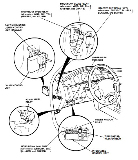 92 honda accord spark plug wiring diagram