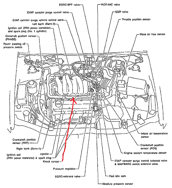 1997 nissan maxima engine diagram auto parts diagrams