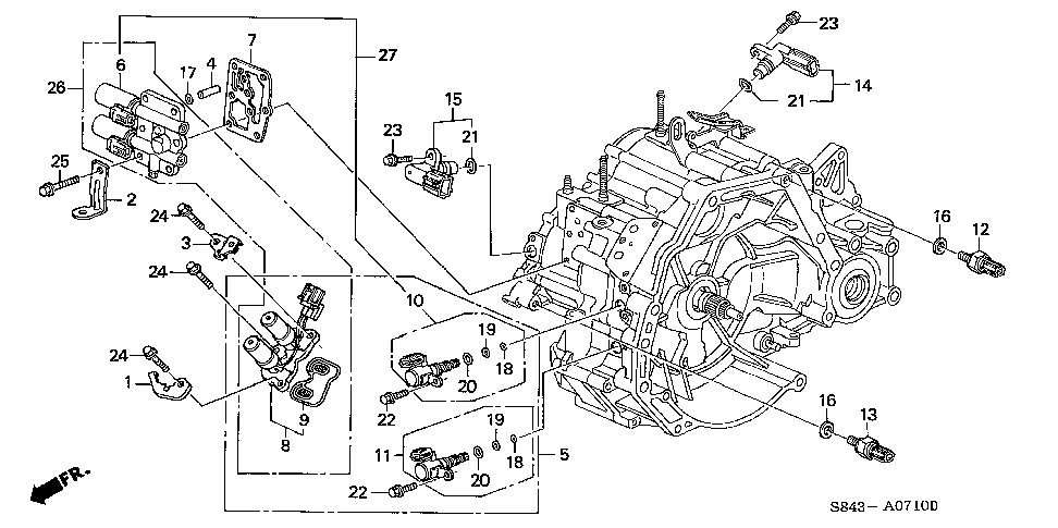 1999 honda crv engine diagram