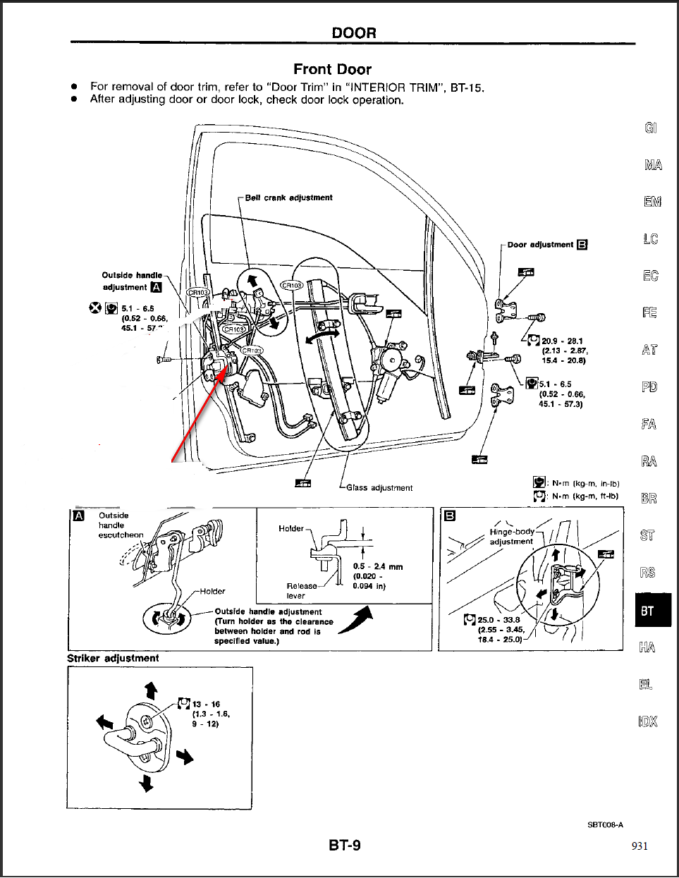 pdf] diagram of door lock mechanism on frant door of ford explorer, Wiring diagram