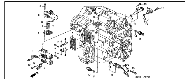 honda element starter wiring diagram  honda  free engine