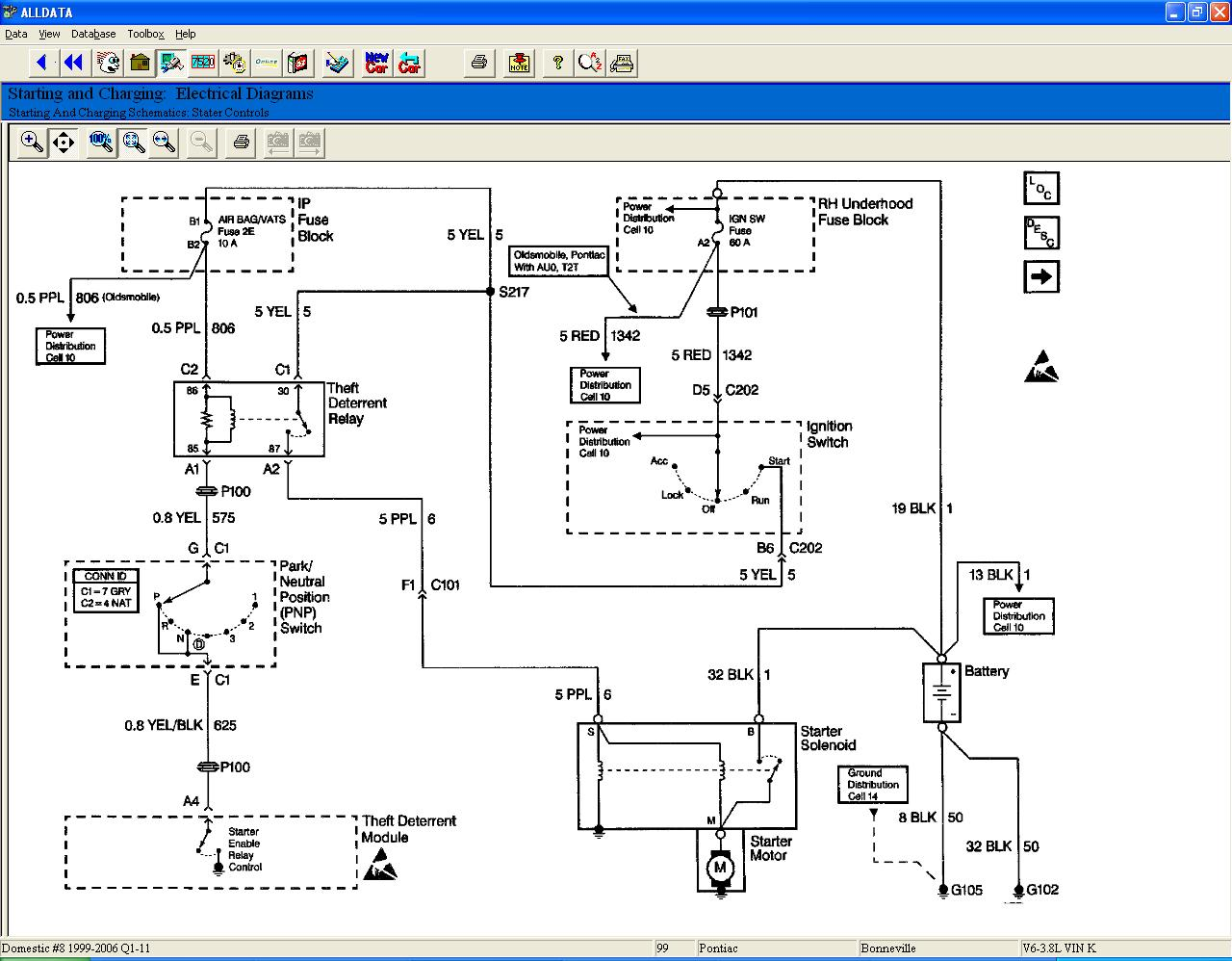 Vats Wiring Diagram Electrical 92 Cadillac Deville Chevy Camaro Seville Gm Bypass Module