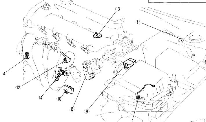 77fdr Mazda 6i Map Sensor 2004 Mazda6i Know on 2000 mazda protege engine diagram
