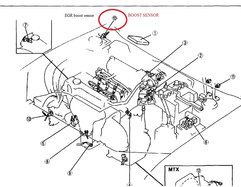 Mazda Protege Map Sensor Location