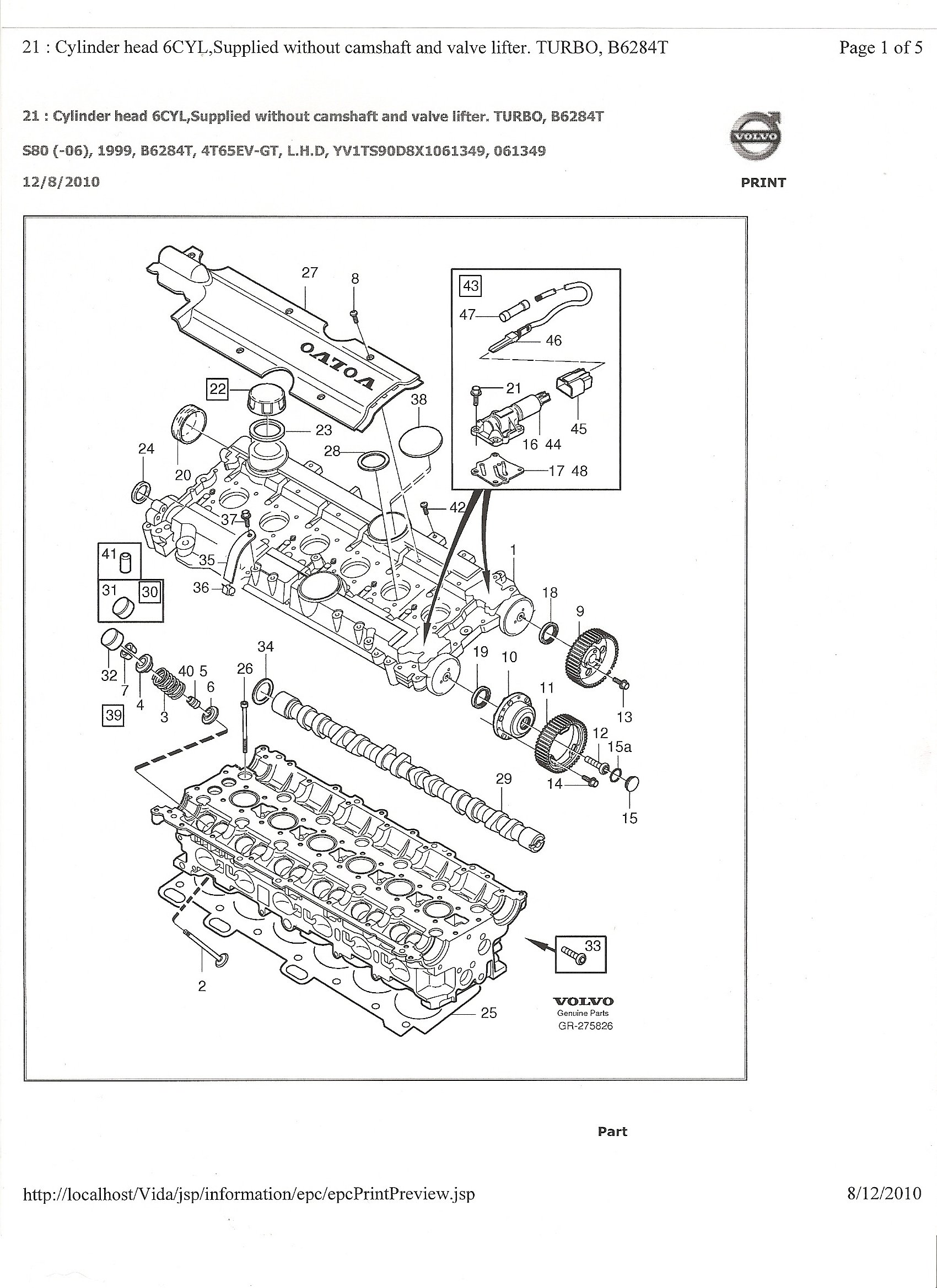 Volvo S80 T6 Engine Diagram Free Wiring Diagram For You