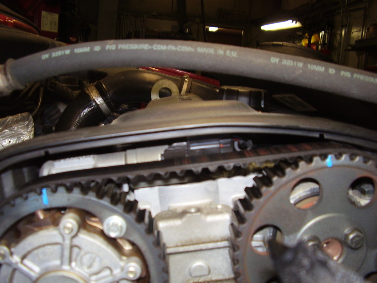 I have recently replace the valvestem oil seals on my 1998 v40 t4, I replaced headgasket, cleand ...