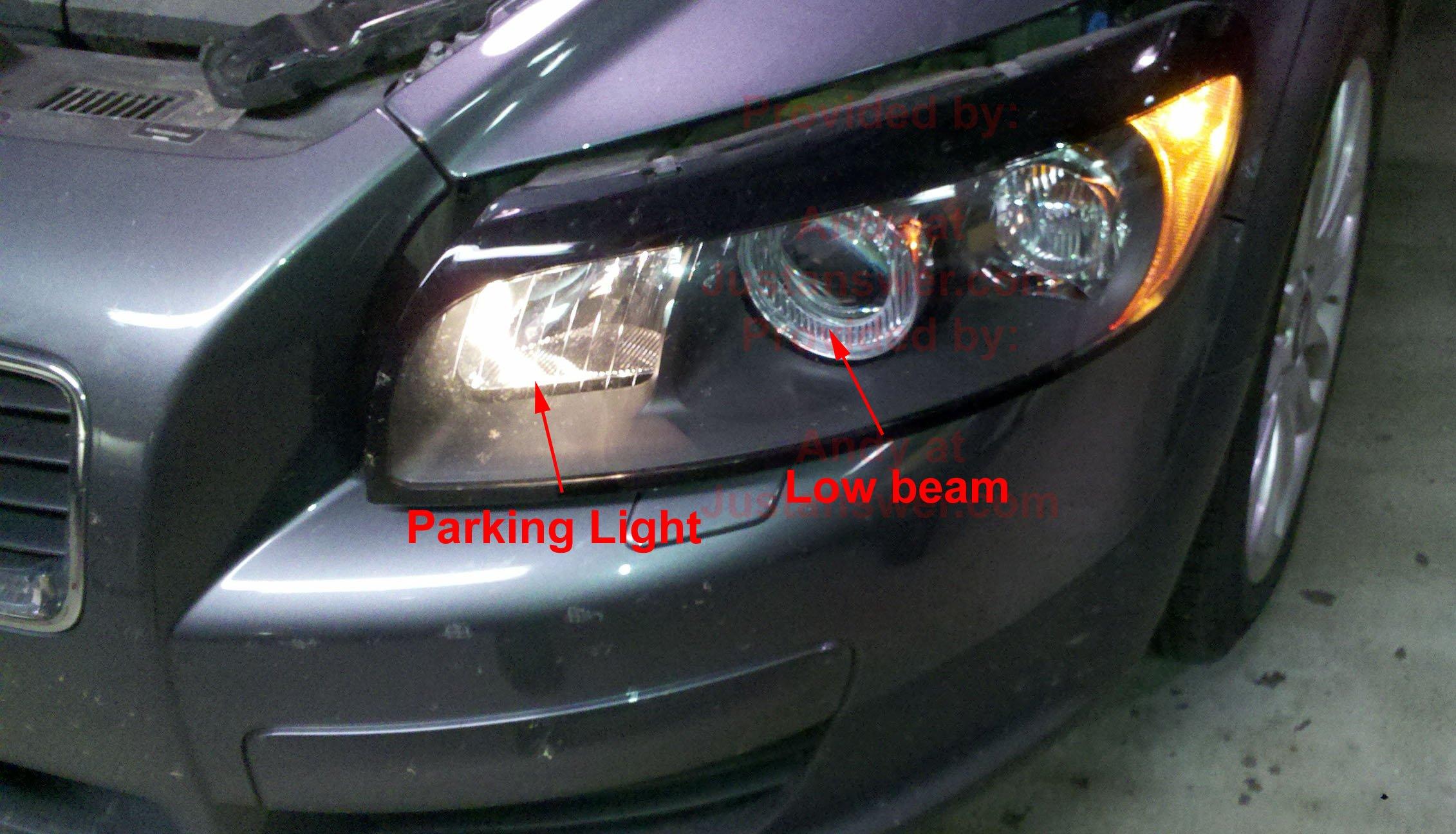 My Volvo S Headlights Are Very Dim Any Ideas