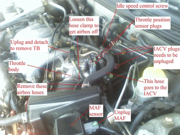 How To Remove Air Box On 1999 Infiniti I30