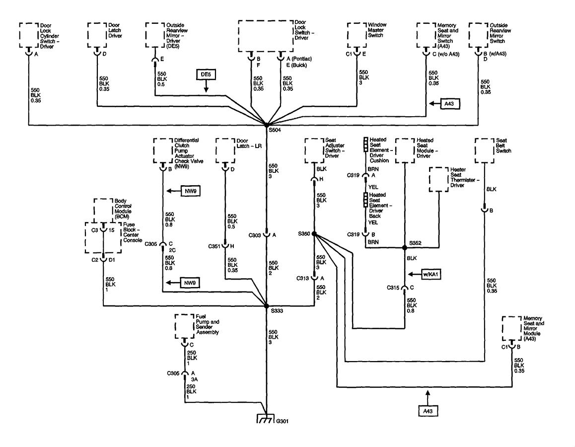 pontiac aztek headlight wiring diagram pontiac aztek