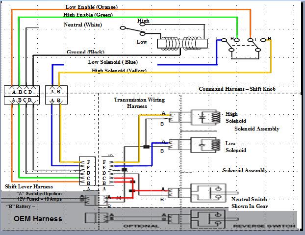 2003 international vin 3hscbaer33c064722 high low transmission full size image