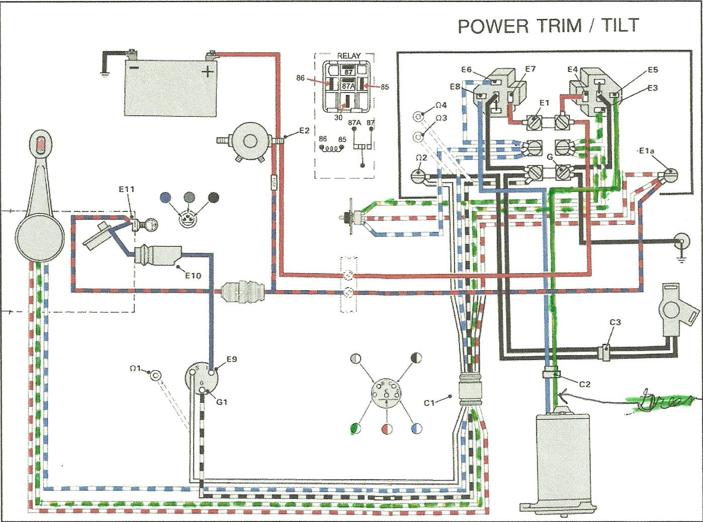 omc solenoid wiring diagram omc wiring diagram free