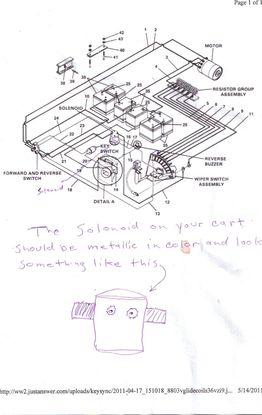 Melex Wiring Diagram Club Car Golf Cart Battery Motor Plug On 36 Volt Trolling Ez Go Gas Collections Ezgo Drive Clutch