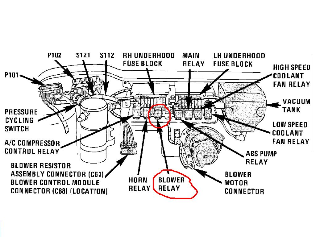 location of blower motor on 1970 chevelle  location  free
