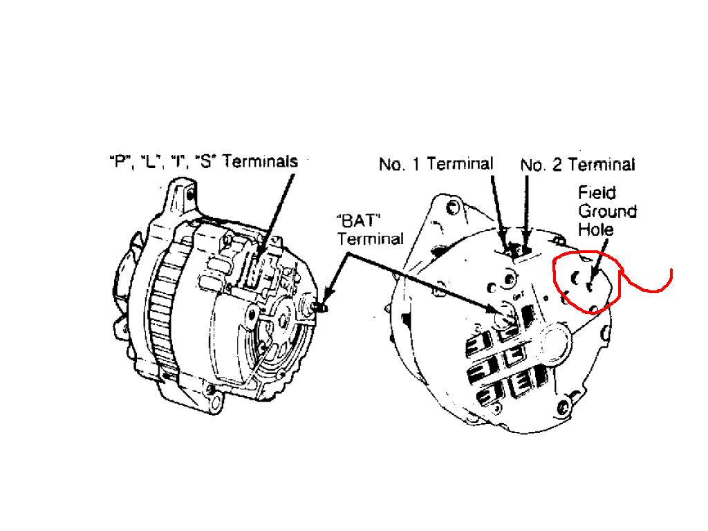 Delcotron Alternator Wiring Diagram Auto Electrical Cs Get Free Image About 10si 4 Wire