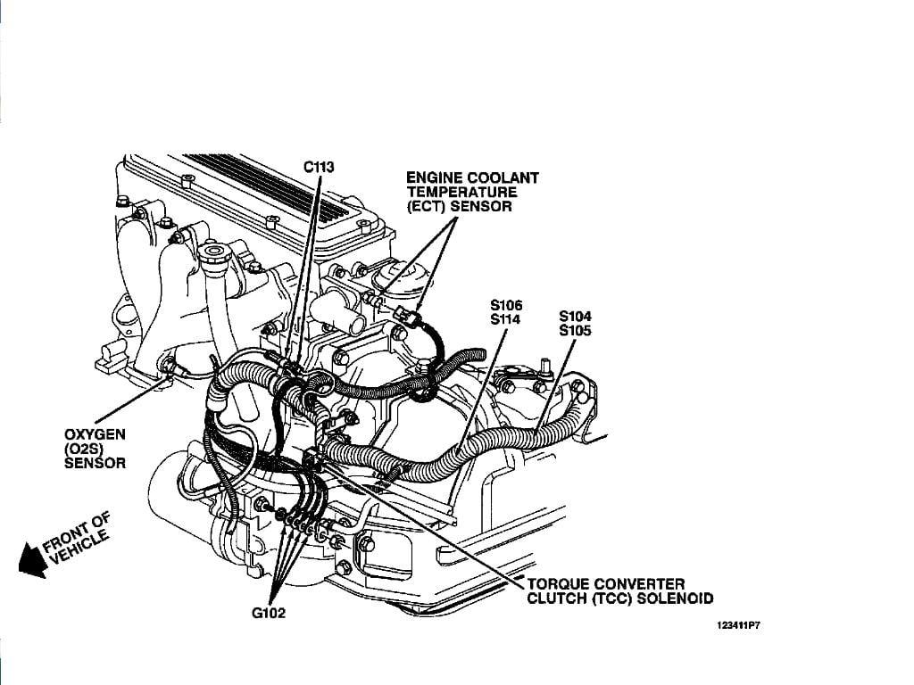 1995 Corsica 2 2 L With Auto Trans Build Date 1