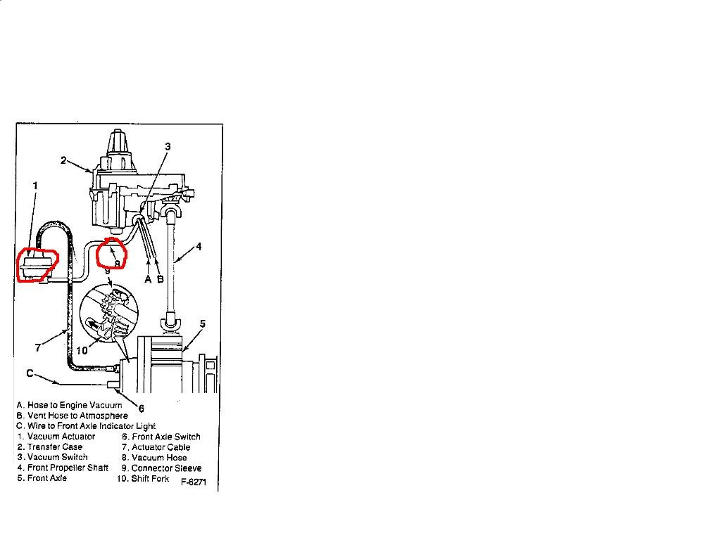1995 Gmc Jimmy Vacuum Diagram Wiring Diagrams Sonoma Engine 4x4 Not Working Need A Clear For