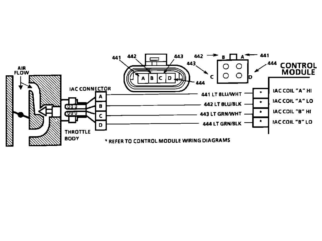 Gm Iac Motor Wiring Great Design Of Diagram 4l60e Harness Get Free Image About