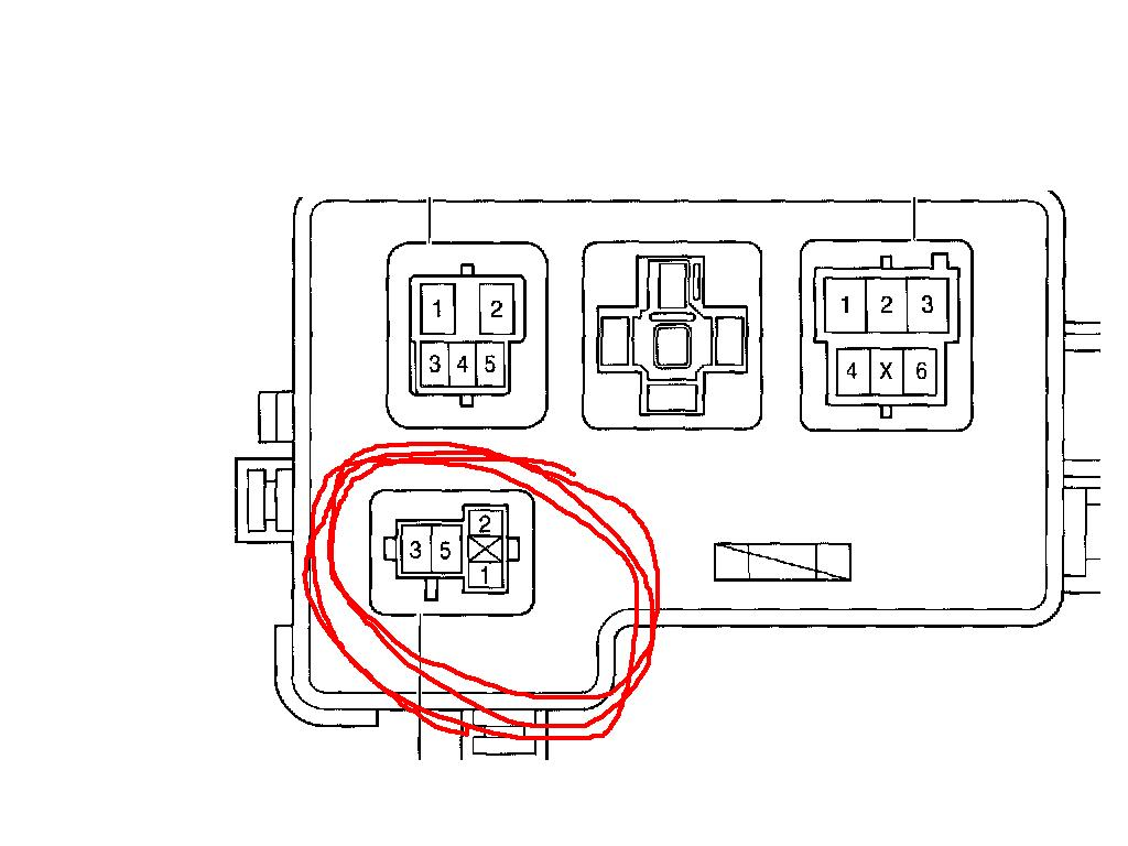 toyota sienna ce in toyota sienna relay box is shown if you have any more questions or need diagrams or service info please don t hesisitate to ask if this answer helped you please click accept