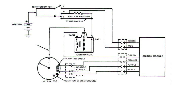 Need Ignition Wiring Diagram For 1982 Ford Bronco Custom