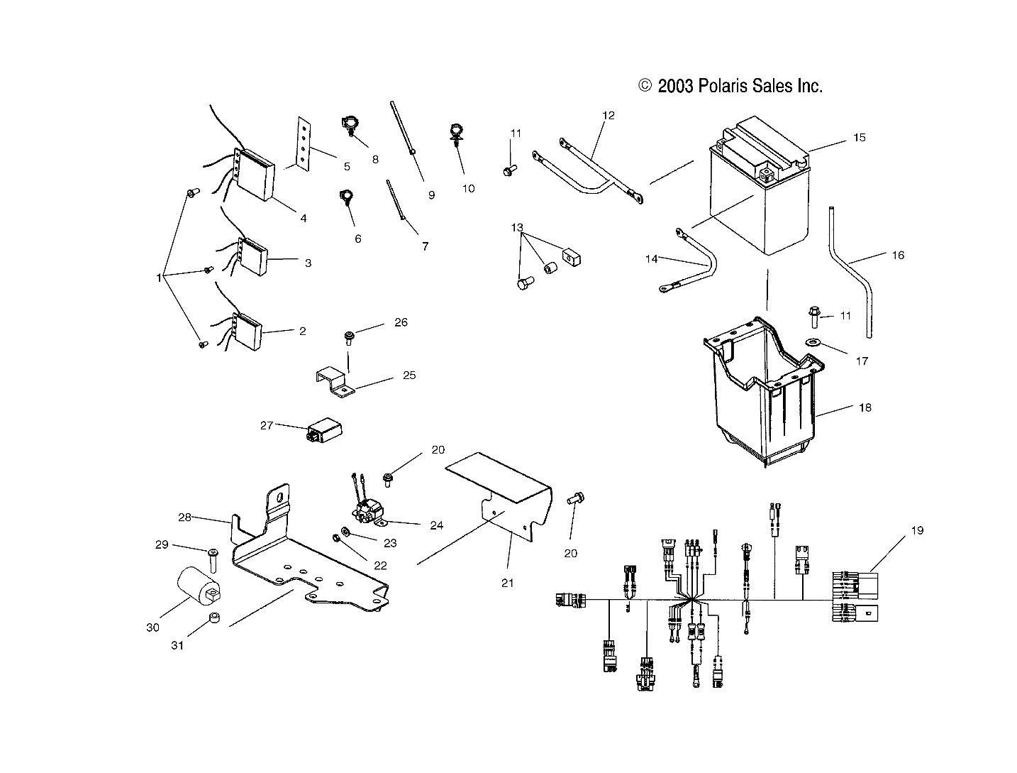 polaris sportsman 90 wiring diagram on ranger 6x6