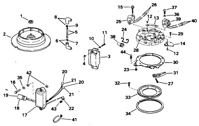 Yamaha 1985 40 Hp Outboard Service Manual