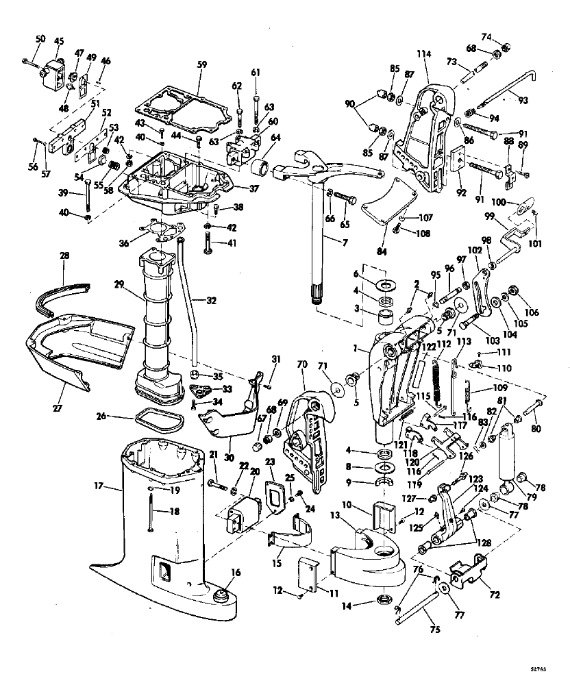 85 Hp Chrysler Outboard Engine Diagram 85 Free Engine