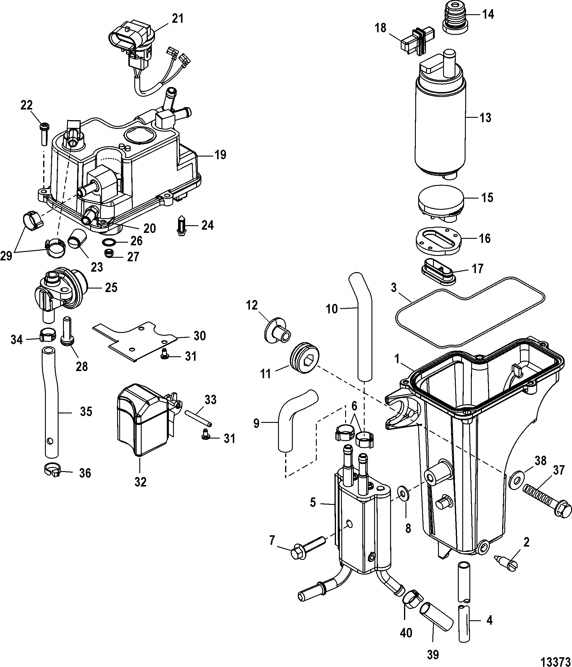 50 hp force outboard parts diagram  50  free engine image