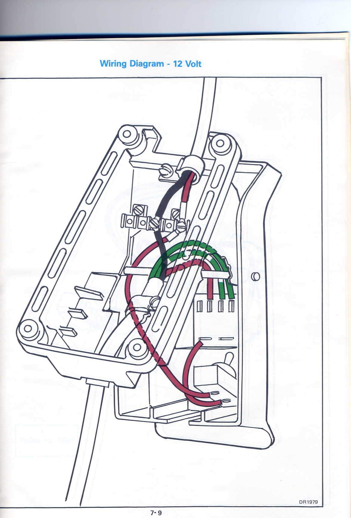 Trying To Repair A Friends 1986 Trolling Motor  Model Jbf2b  The Wiring In The Foot Control