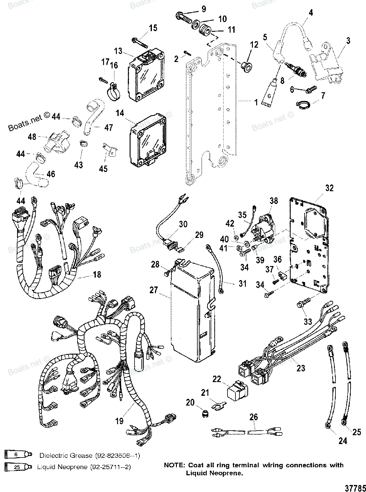88 Volvo 240 Starter Ignition Wiring Diagram further Power Distribution Diagram 2001 Explorer as well Motorguide Head 7 75v Wiring Diagram likewise Electrical Fuse Boxes Diagram likewise Mercury Outboard Motor Wiring Diagram. on mercury outboard alarm wiring diagram html