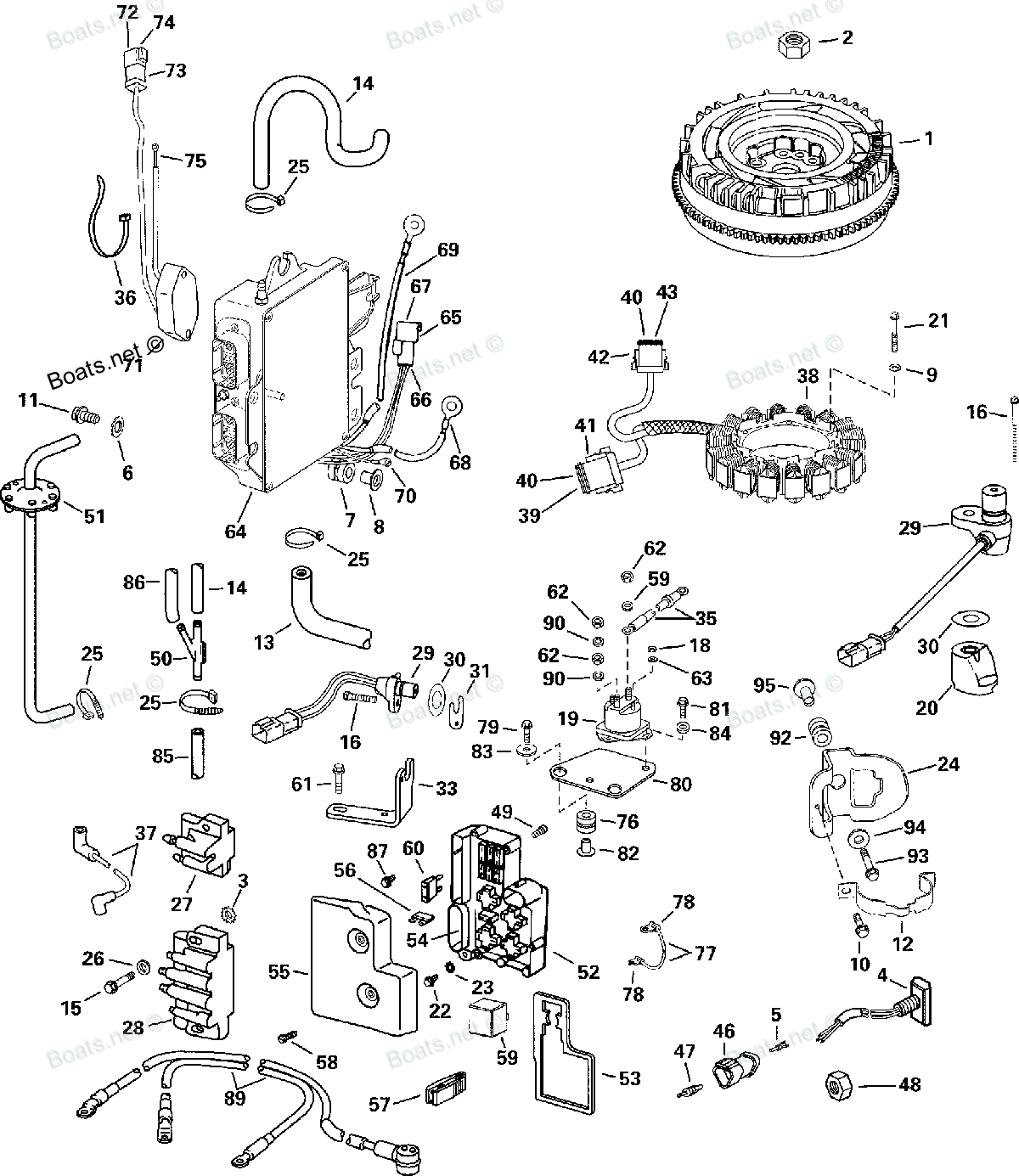 1988 Evinrude Ignition Switch Wiring Diagram further Sea King Outboard Fuel Pump further Johnson 70 Wiring Diagram besides Force Outboard Wiring Diagram On Mercury Motor Parts in addition Evinrude 65 Hp Outboard Motor. on 1970 evinrude 115 hp outboard