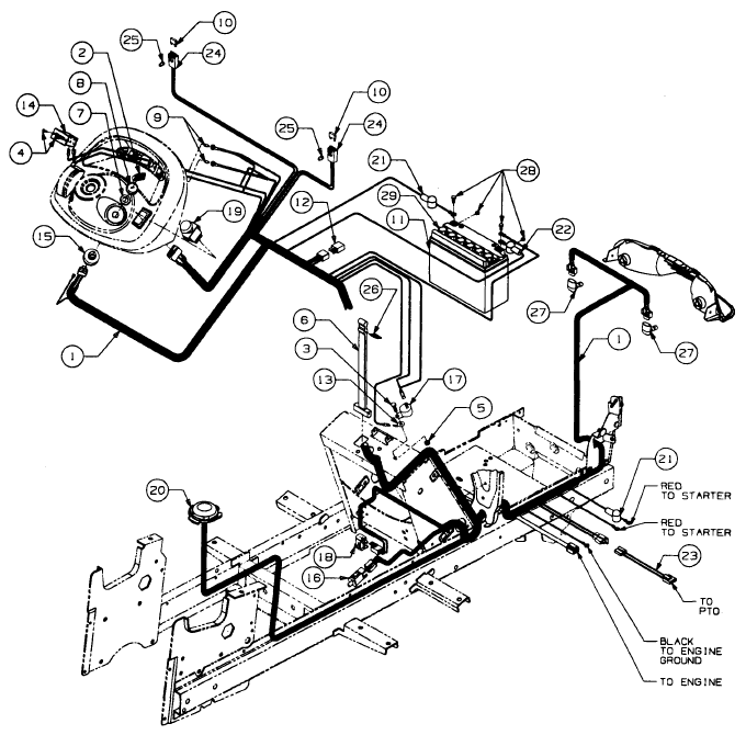 wiring diagram for cub cadet 2135  u2013 powerking co