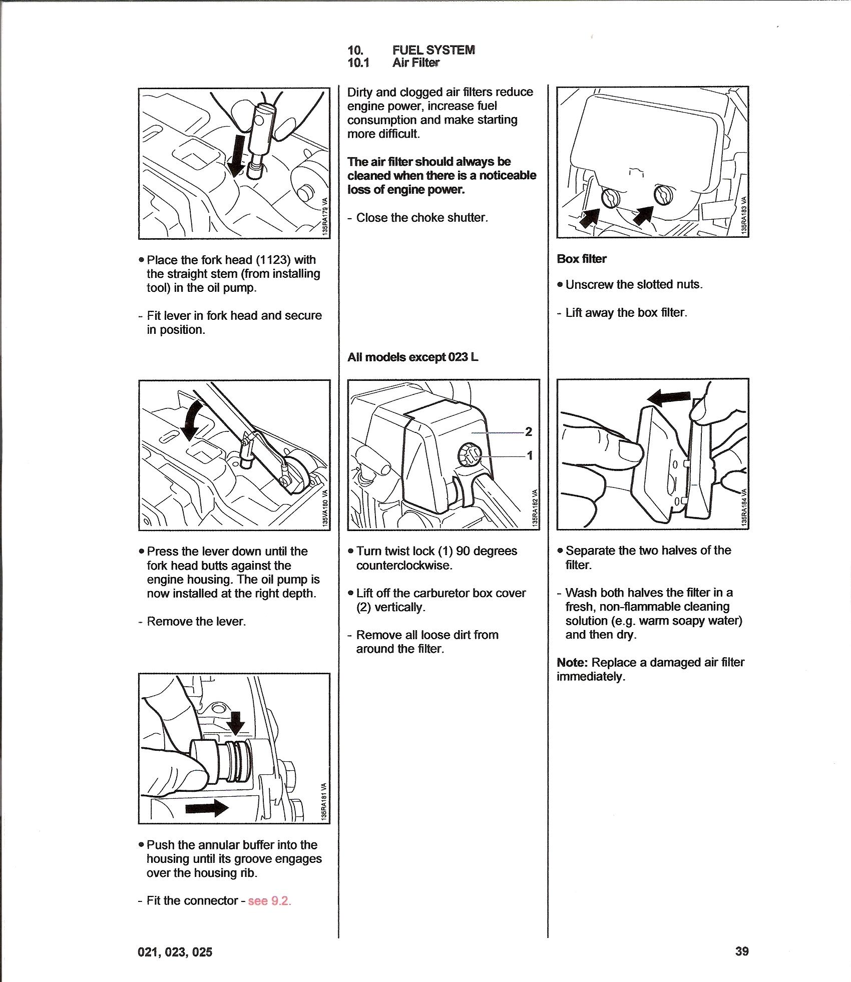 stihl ms 230 manual pdf