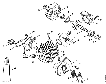 Stihl Ms 270 Engine Diagrams on get 026 stihl parts diagram