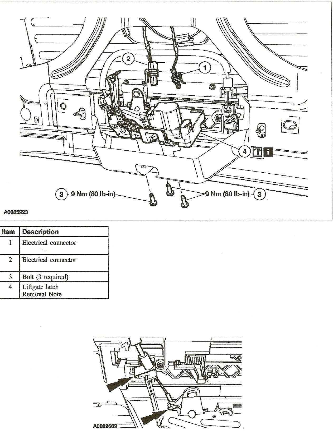ford explorer back door latch diagram html